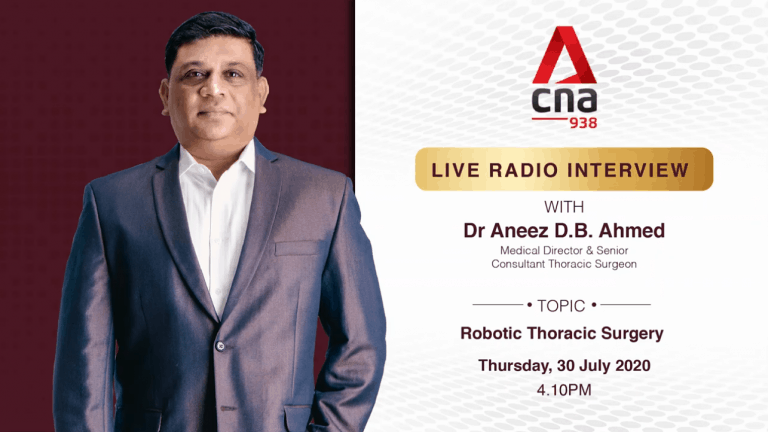 CNA938 LIVE RADIO INTERVIEW WITH DR ANEEZ AHMED