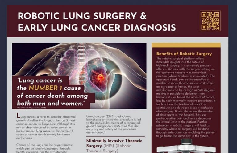 GLOBAL HEALTH: ROBOTIC LUNG SURGERY & EARLY LUNG CANCER DIAGNOSIS